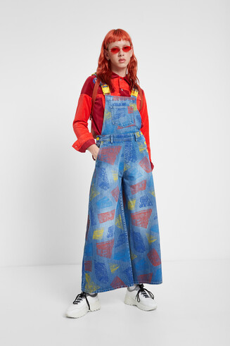 Young talents denim overall