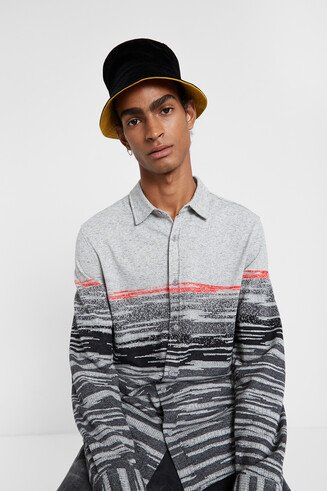 Slim long-sleeve shirt