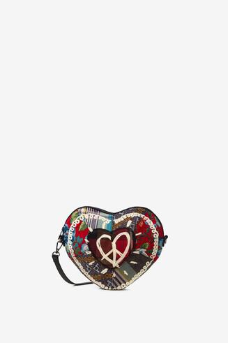 Bolso bandolera corazón