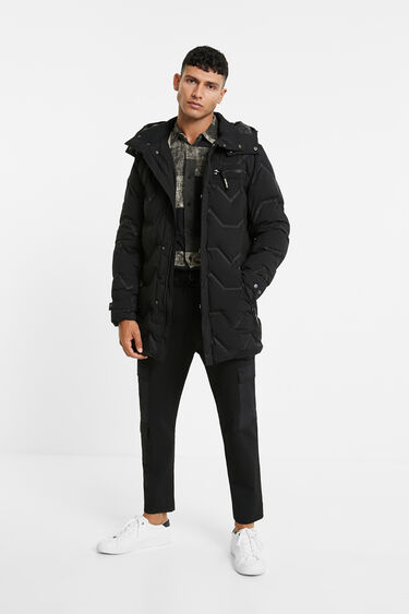 Long padded jacket | Desigual