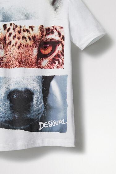 T-Shirt Foto-Print Animal | Desigual