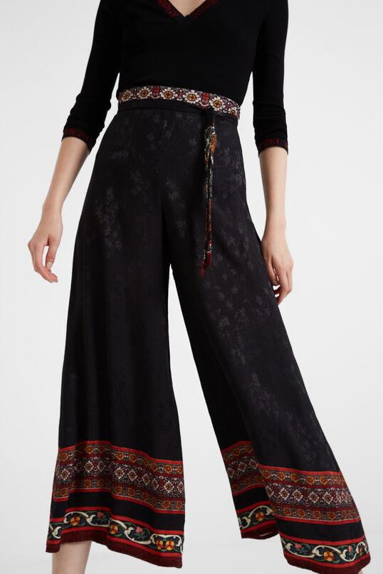 Pantalons amples viscosa | Desigual
