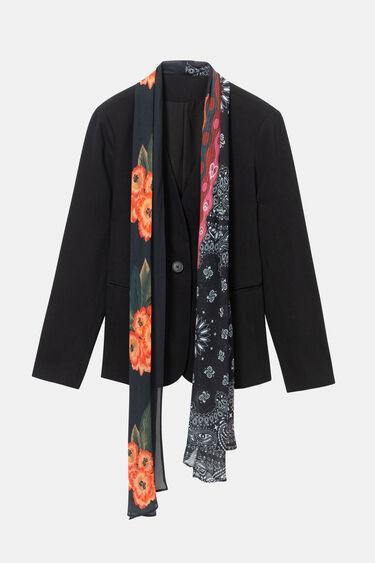 Blazer amb mocador floral | Desigual