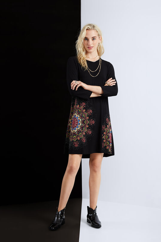 Flared mandala dress   Desigual