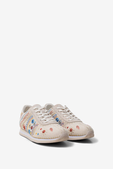 Baskets running broderie exotic | Desigual