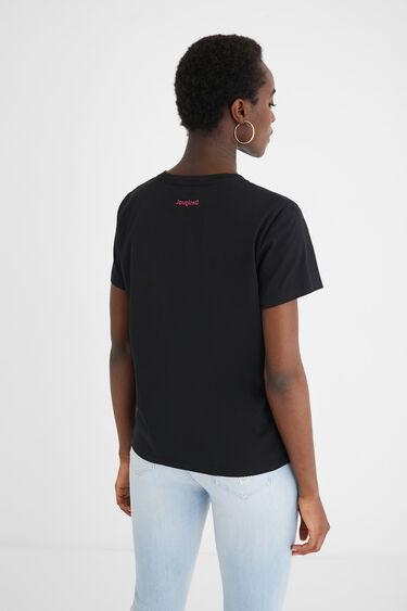 Camiseta corazones 100% algodón | Desigual