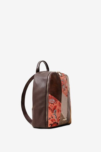 Boho-rugzak met mandala's en bloemen | Desigual