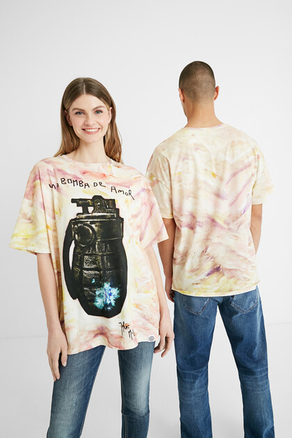 Illustration cotton T-shirt