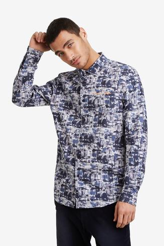 Desigualité long-sleeved shirt