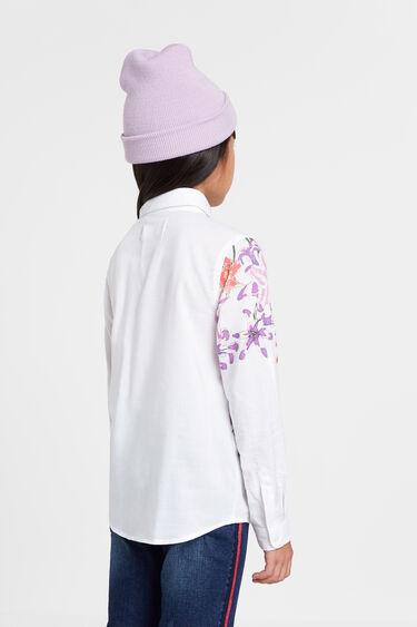 Camisa estampado y lettering | Desigual