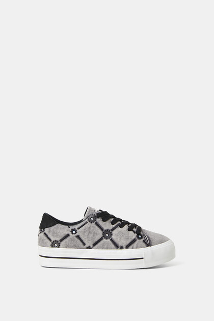 Sneakers Street-Style dicke Sohle