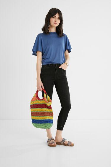 Pantalon en jean skinny longueur chevilles | Desigual