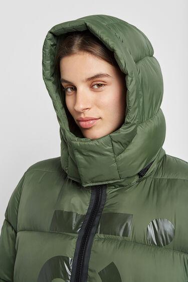 Ecoalf long padded jacket   Desigual