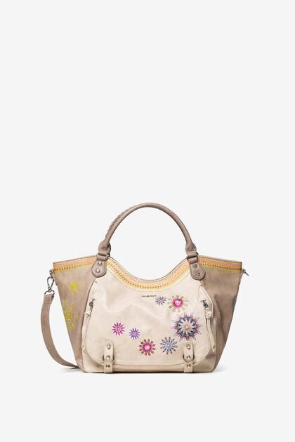 Tasche mit Mandalas und Pailletten