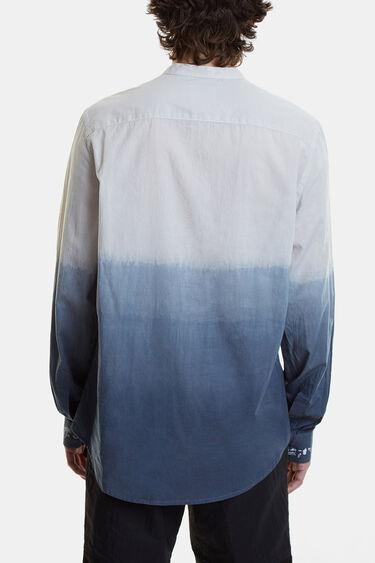 Camisa bicolor amb degradat | Desigual