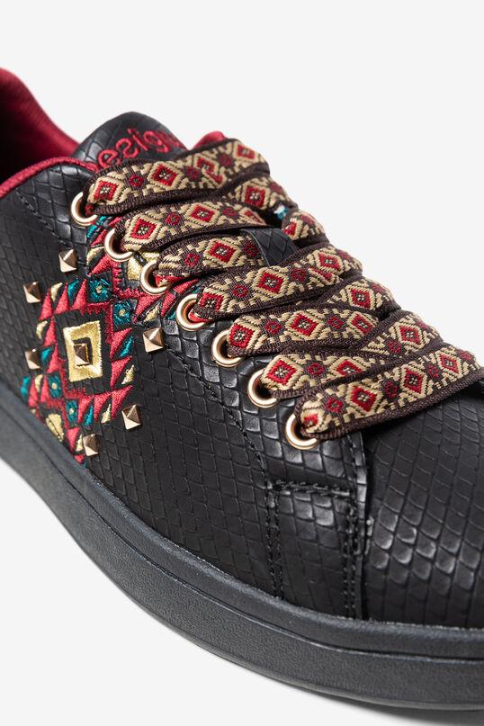 Sneakers gravées imprimé Navajo | Desigual