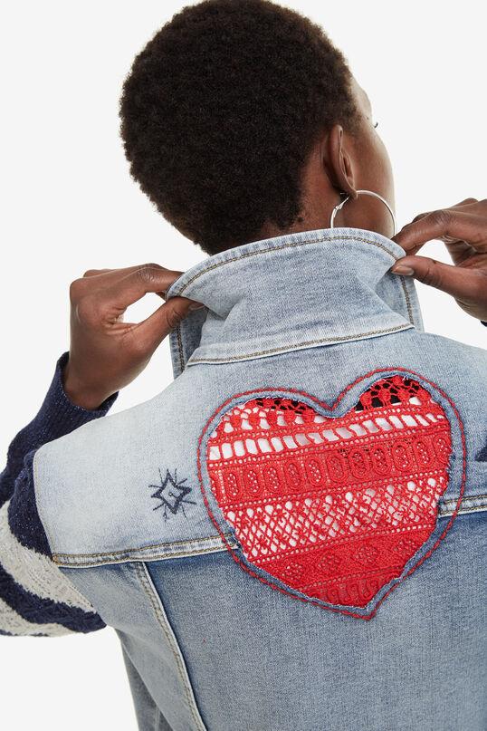 Jeansjacke mit Strick Sailor Lover | Desigual