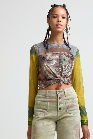 T-shirt slim arty | Desigual