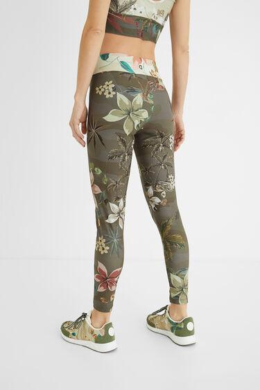 Print leggings elastic waist | Desigual