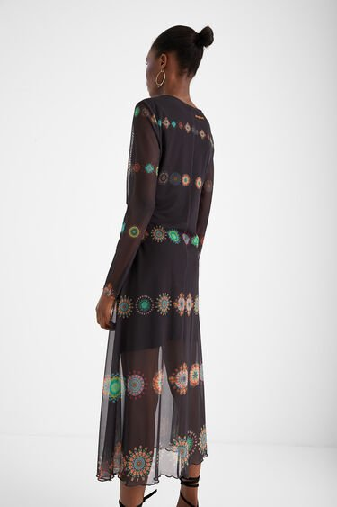 Dress double layer tulle | Desigual