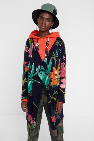 Jaqueta llarga floral