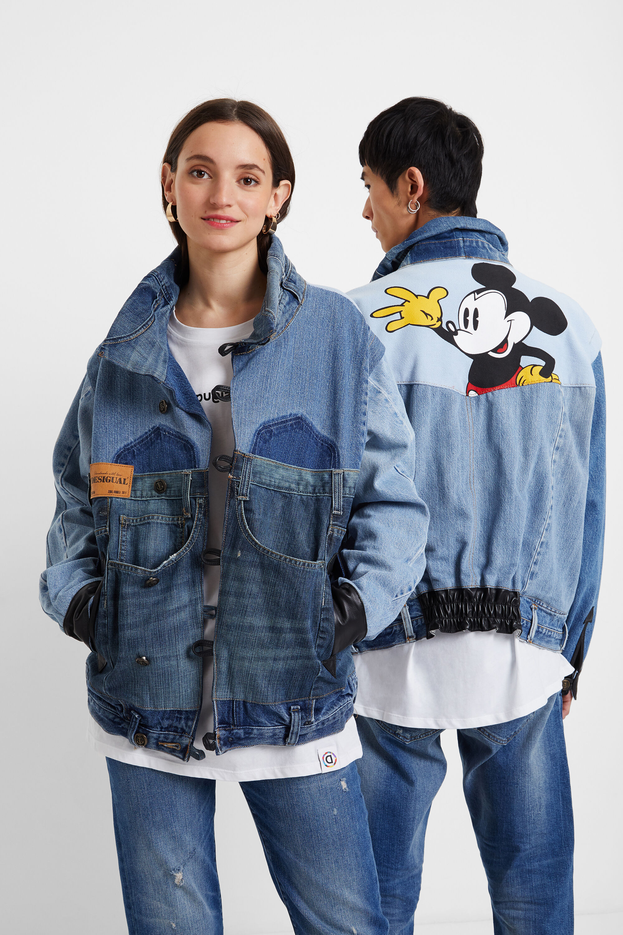 Iconic Jacket Mickey Mouse - BLACK - L