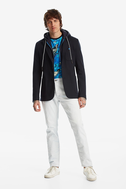 Blazer sports jacket - BLUE - 54