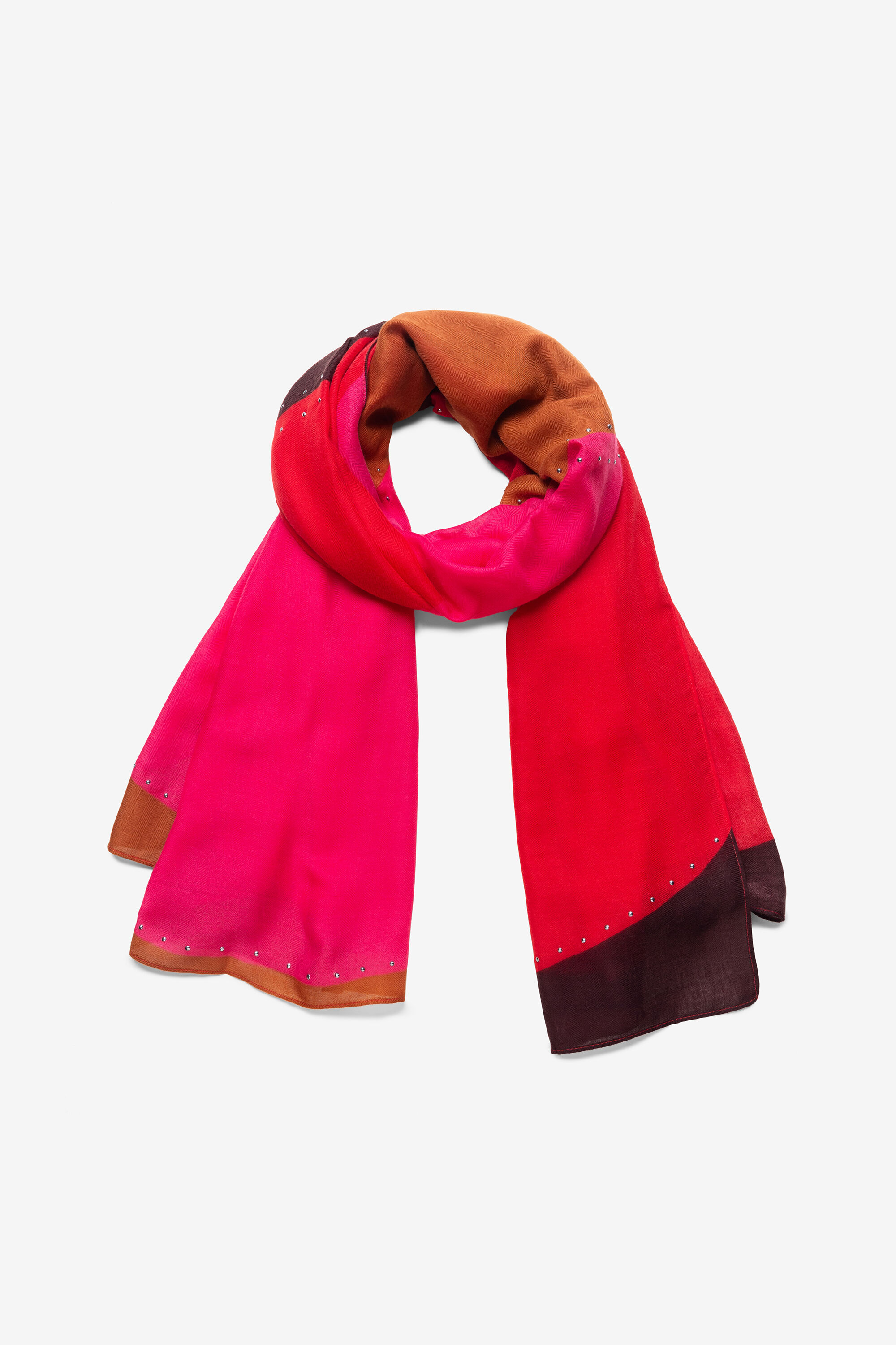 Foulard logomaniac clous - RED - U