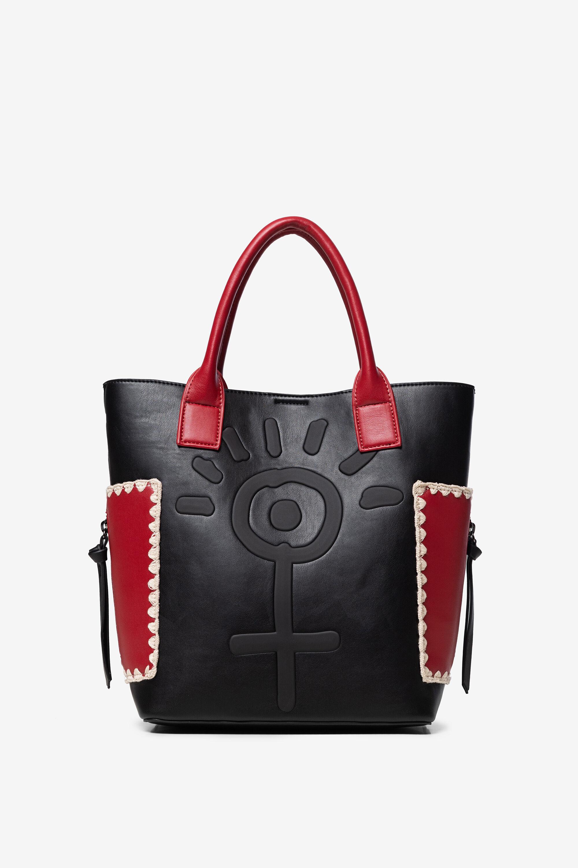 Handtaschen - 2 in 1 Handtasche mit Necessaire BLACK U  - Onlineshop Desigual