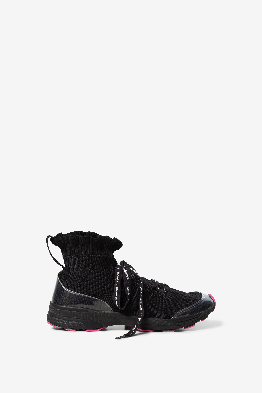 Basket chaussette trekking - BLACK - 39