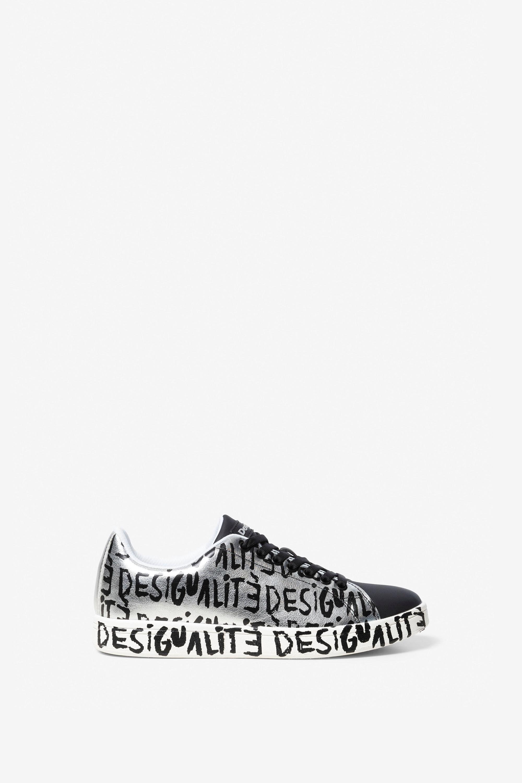 Sneaker Cosmic met Desigualité-lettering – BLACK – 36
