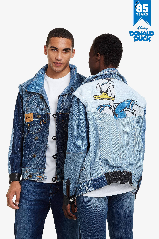 Iconic Jacket Donald Duck - BLACK - XS