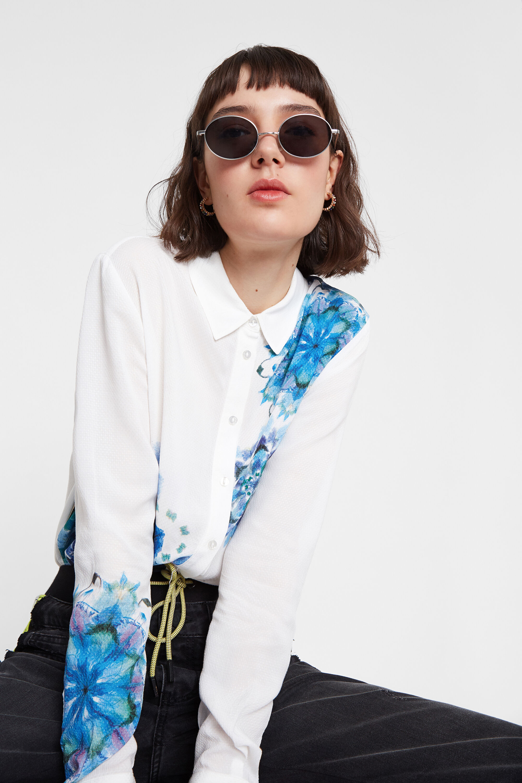 Chemise à mandala en aquarelle. - WHITE - XL