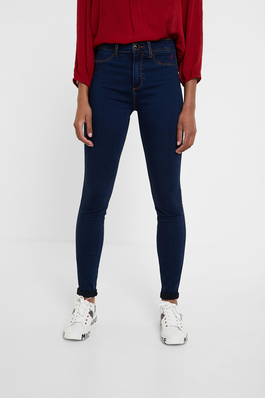 2nd skin jeans - BLUE - 28