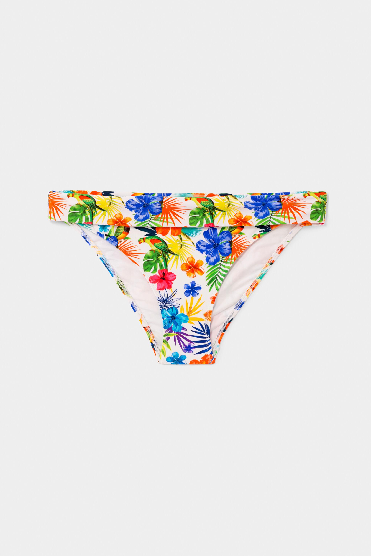 Bademode - Hawaiianische Bikinihose RED S  - Onlineshop Desigual