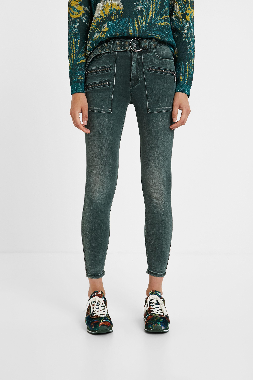 Hosen - Slim Jeans GREEN 46  - Onlineshop Desigual