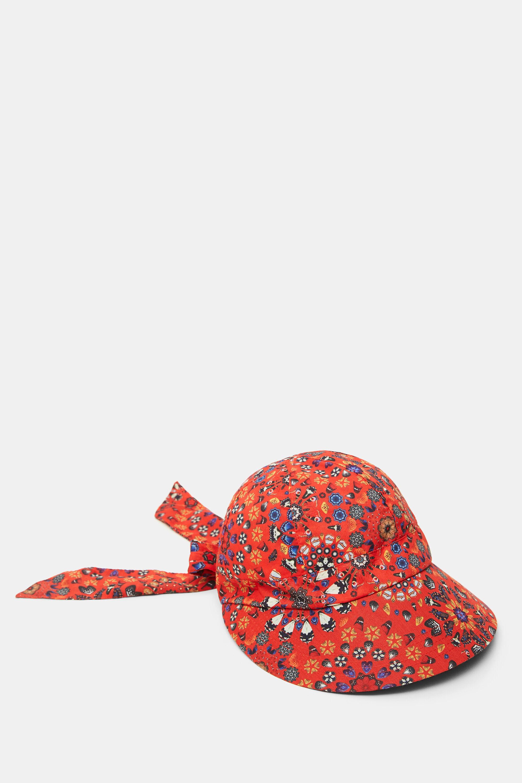 Hat bow mandalas - RED - U