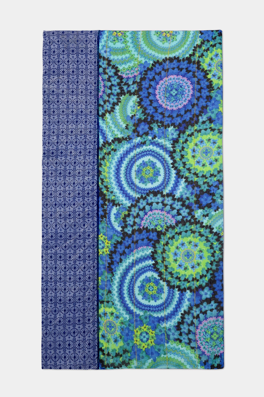 Foulard rectangulaire galactique - BLUE - U