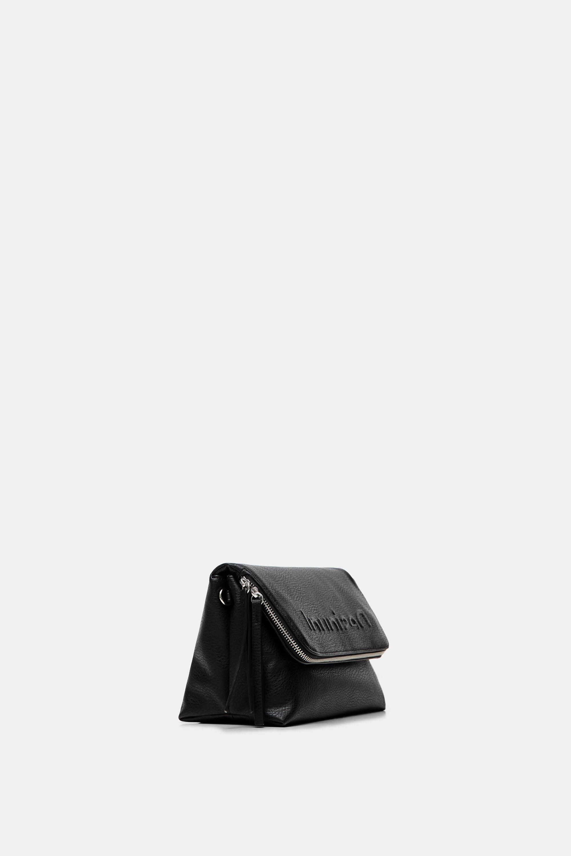 Crossbody bag embossed logo - BLACK - U