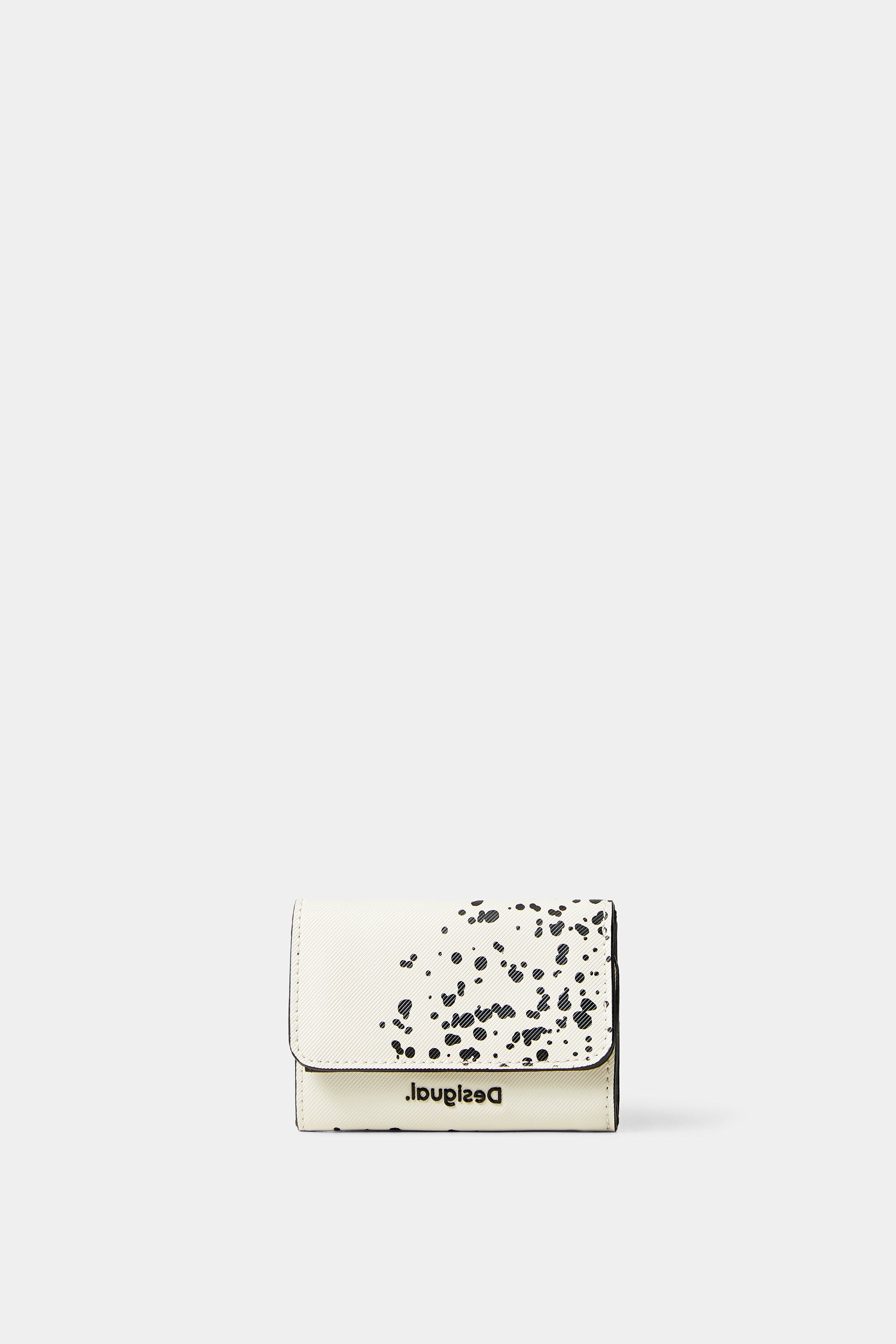 Coin purse paint stains - WHITE - U