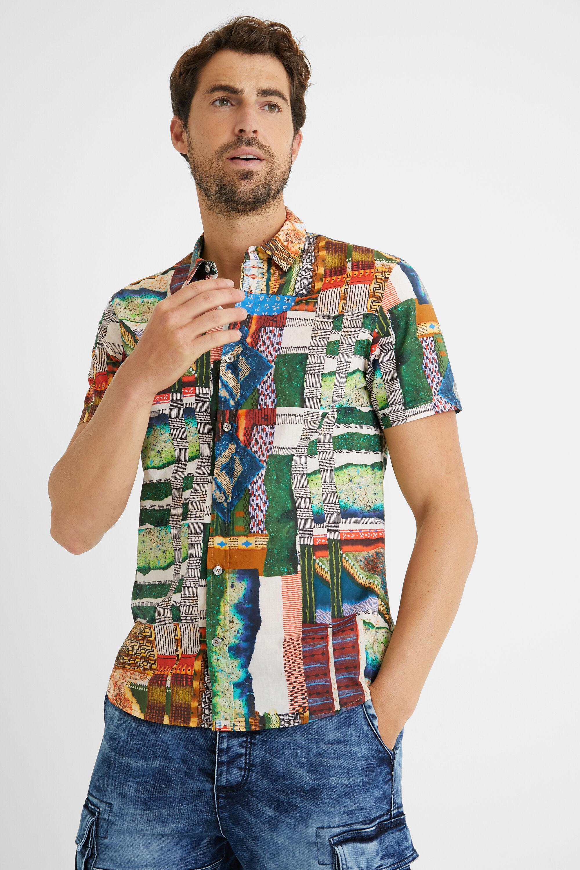 Shirt friezes 100% cotton - MATERIAL FINISHES - L