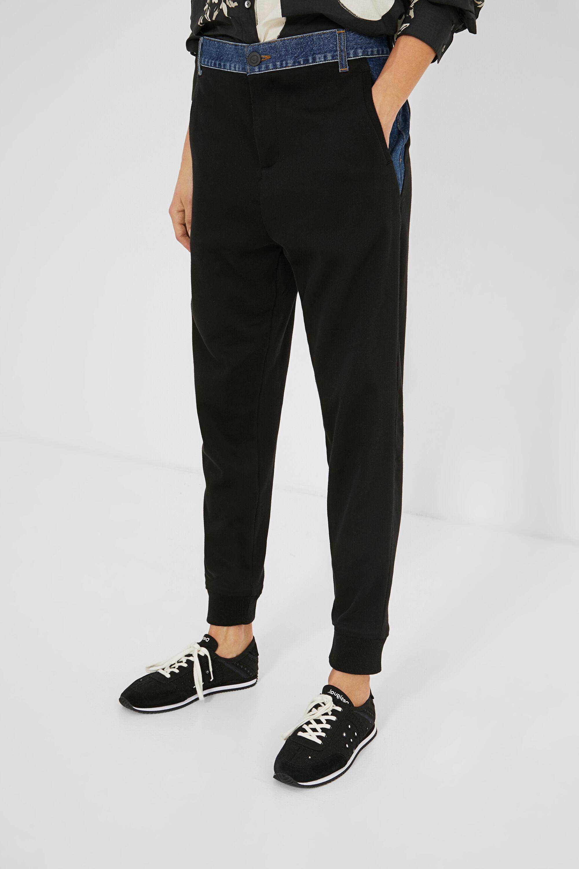 Hosen - Hybrid Hose Jeans BLACK L  - Onlineshop Desigual