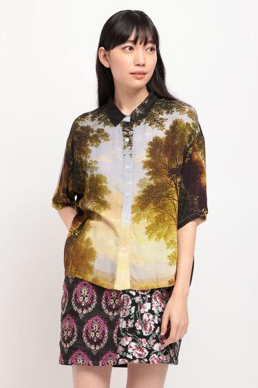 デジタルプリント ショートシャツ | Desigual