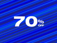 All 70% off