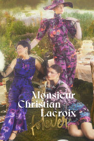 Designed by Mr. Christian Lacroix SS21