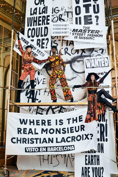 Mr. Christian Lacroix のデザイン